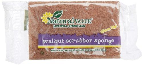 Natural-Value-Walnut-Scrubber-Sponge-Pack-of-24-0