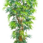 Nearly-Natural-5188-Curved-Bamboo-Silk-Tree-6-Feet-Green-0