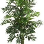 Nearly-Natural-5263-03-Areca-Palm-Decorative-Silk-Tree-with-Basket-4-Feet-Green-0