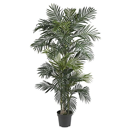 Nearly-Natural-7-ft-Golden-Cane-Silk-Palm-Tree-0