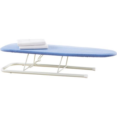 Neatfreak-Table-Top-Iron-Board-Blue-and-Sunbeam-Steam-Master-Iron-with-Retractable-Cord-GCSBCL-202-000-0-0