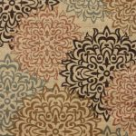 New-City-Brand-New-Contemporary-Brown-and-Beige-Modern-Floral-Flowers-Area-Rug-0