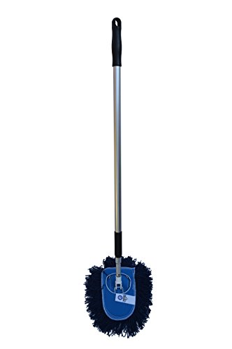 Nine-Forty-Industrial-Strength-3-Piece-Dust-Mop-Wedge-Kit-with-Frame-and-Aluminum-Extension-Handle-0