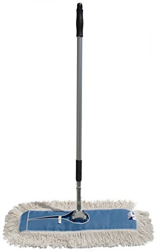 Nine-Forty-Industrial-Strength-Ultimate-Cotton-Dust-Mop-with-Aluminum-Quick-Change-Extension-Handle-and-Frame-Hardwood-Floor-Broom-0
