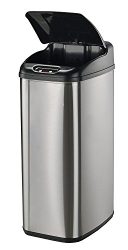 Nine-Stars-Infrared-Touchless-Stainless-Steel-Trash-Can-0-0
