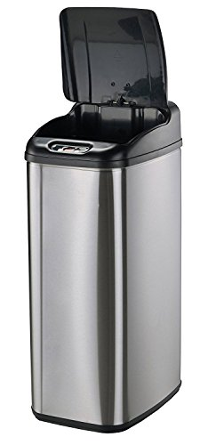 Nine-Stars-Infrared-Touchless-Stainless-Steel-Trash-Can-0-1