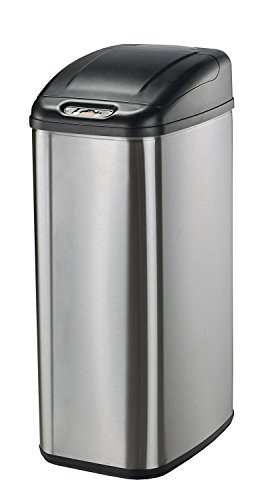 Nine-Stars-Infrared-Touchless-Stainless-Steel-Trash-Can-0