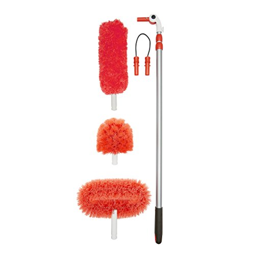 OXO-Good-Grips-3-in-1-Extendable-Microfiber-Long-Reach-Duster-with-Interchangeable-Heads-14-FT-0