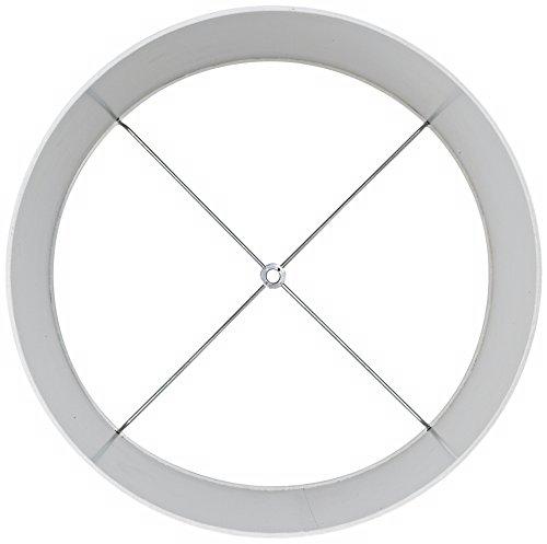 Off-White-Fabric-Drum-Shade-15x16x11-Spider-0-1