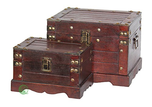 Old-Style-Wooden-Chest-in-Antique-Cherry-0