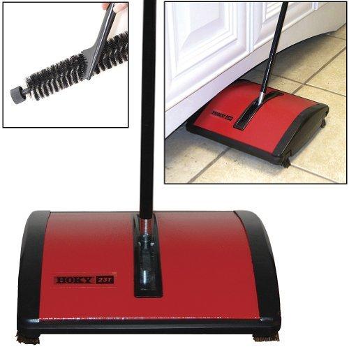Oreck-Hoky-Rotorbrush-Floor-Carpet-Sweeper-With-Genuine-Boar-Bristle-Brush-0