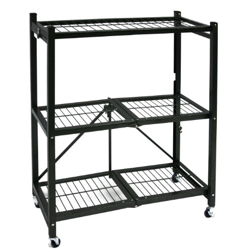 Origami-General-Purpose-Steel-Storage-Rack-with-Wheels-3-Shelf-Small-0