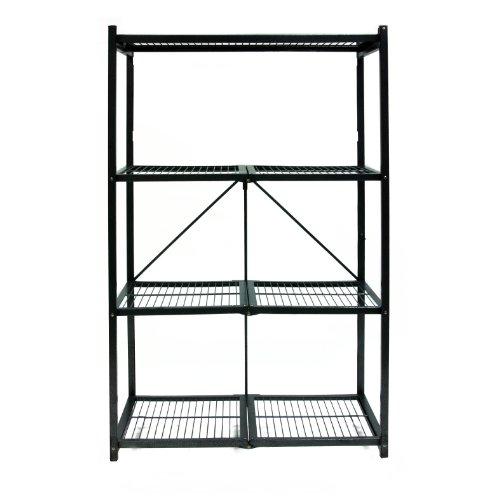 Origami-R5-01-General-Purpose-4-Shelf-Steel-Collapsible-Storage-Rack-Large-0