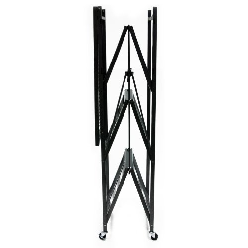 Origami-R5-01W-General-Purpose-4-Shelf-Steel-Collapsible-Storage-Rack-with-Wheels-Large-0-1