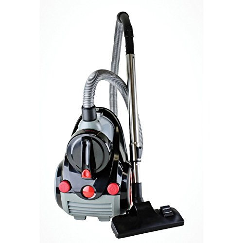 Ovente-ST2000-Featherlite-Cyclonic-Bagless-Canister-Vacuum-with-Hepa-Filter-Corded-0-0
