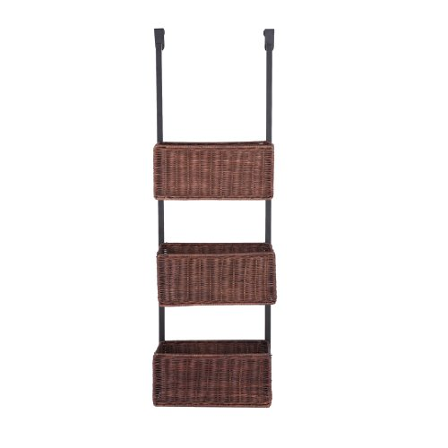 Over-The-Door-3-Tier-Basket-Storage-White-0-0