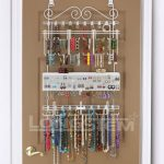 OverdoorWall-Jewelry-Organizer-in-White-By-Longstem-Unique-patented-product-Rated-Best-0