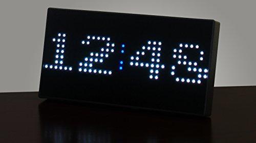 Pac Man Premium Led Desk Clock 512 Vibrant Led S Display