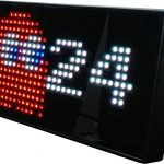 PAC-MAN-Premium-LED-Desk-Clock-512-Vibrant-LEDs-Display-Classic-Animations-From-the-Hit-Arcade-Video-Game-Officially-Licensed-Merchandise-Great-8-bit-Retro-Gift-0