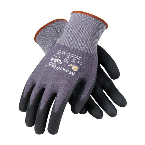 PIP-ATG-MaxiFlex-34-874-BlackGray-Large-Nylon-Full-Fingered-Work-General-Purpose-Gloves-12-pack-0-0