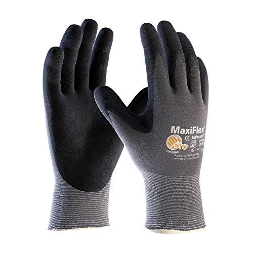 PIP-ATG-MaxiFlex-34-874-BlackGray-Large-Nylon-Full-Fingered-Work-General-Purpose-Gloves-12-pack-0