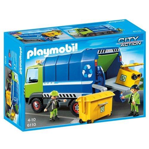 PLAYMOBIL-Recycling-Truck-Playset-0