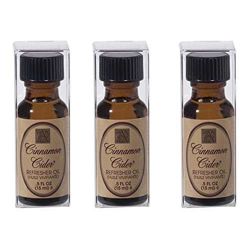 Package-of-Three-3-Aromatique-5-Ounce-Refresher-Oils-Cinnamon-Cider-0