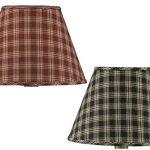 Park-Designs-Sturbridge-Fabric-Lamp-Shade-Black-Wine-Country-Style-Plaid-0