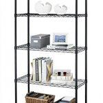 Paylesshere-5-Shelf-Steel-Wire-Tier-Layer-Shelving-72x36x14-Storage-Rack-0-0