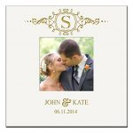 Personalized-Wedding-Anniversary-Gifts-Photo-Album-Book-with-Initial-Holds-200-4×6-Photo-0
