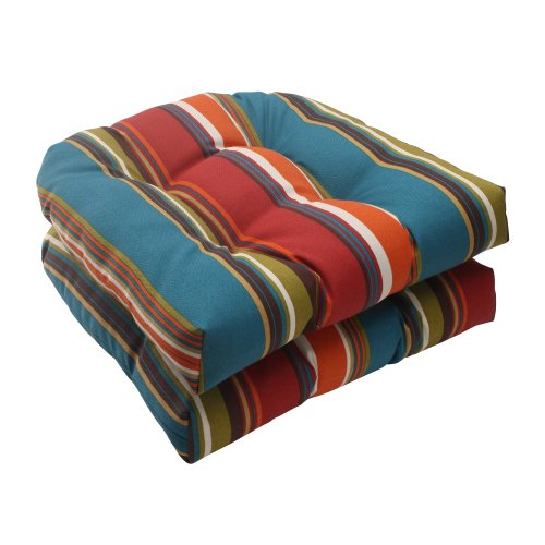 Pillow-Perfect-IndoorOutdoor-Westport-Wicker-Seat-Cushion-Teal-Set-of-2-0