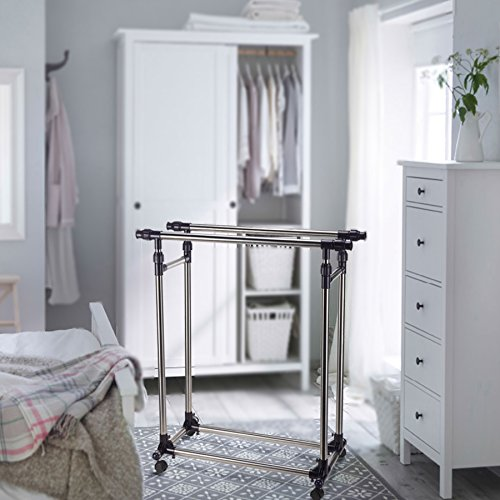 Pinty-Heavy-Duty-Portable-Clothes-Rack-Double-Rail-Clothing-Garment-Rack-0-0