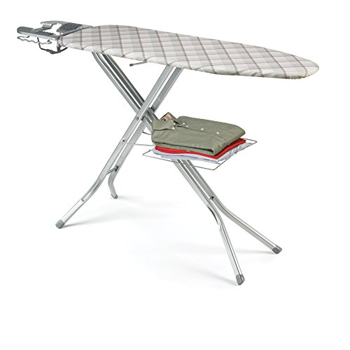 Polder-IB-4817BBB-Deluxe-Ironing-Station-with-Iron-Holster-48-Inch-0-1
