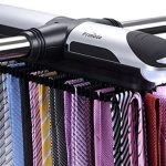 Primode-Motorized-Tie-Rack-With-LED-Lights-Closet-Organizer-Stores-Displays-Up-To-72-Ties-With-8-Belts-Rotation-operates-with-batteries-Great-Gift-Idea-0