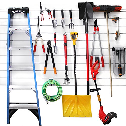 Proslat-11004-18-Inch-Backplates-Steel-Hook-Kit-Designed-for-PVC-Slatwall-20-Piece-0-1