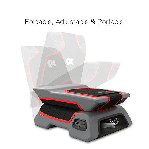 Proxelle-Video-Game-Chair-Dual-3W-Speakers-PS4PS3PS2-Xbox-OneXbox-360Nintendo-Wii-Connect-through-TV-DVD-iPod-iPhone-Android-and-MP3-0-1