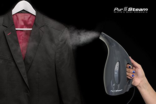 PurSteam-Portable-Garment-Steamer-Fast-Heat-Aluminum-Heating-Element-220ml-Capacity-Perfect-for-Home-and-Travel-0-0