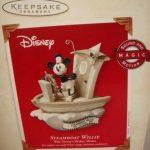 QXD5047-Steamboat-Willie-Walt-Disneys-Mickey-Mouse-2003-Hallmark-Keepsake-Sound-and-Motion-Ornament-0-0