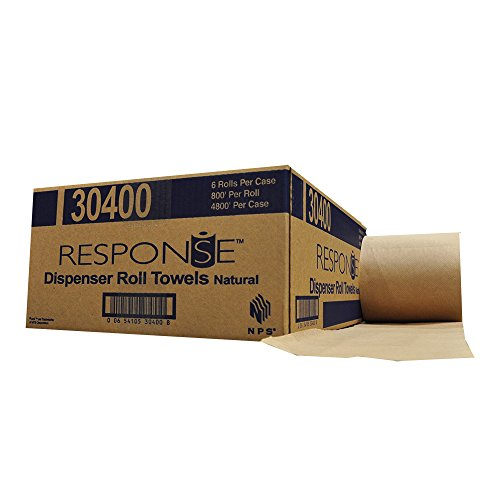 Response-30400-22-Dispenser-Hardwound-Roll-Towel-800-Length-x-8-Width-Natural-Case-of-6-0