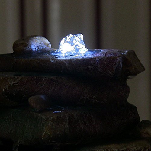 Rock-Garden-Tabletop-Fountain-with-LED-Lights-7-Inch-Tall-0-0