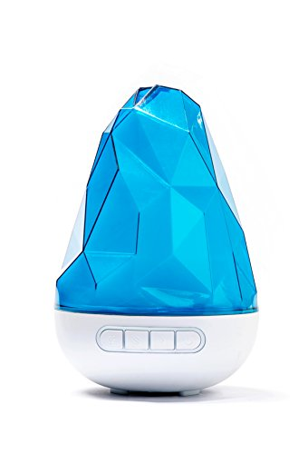 Rockano-200ml-Cool-Mist-Ultrasonic-Humidifier-by-Quooz-with-Aromatherapy-Essential-Oil-Diffuser-Has-High-and-Regular-Mist-Settings-Auto-Shut-Off-and-Adjustable-Light-Options-0-0
