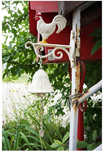 Rooster-Chicken-Garden-Door-Bell-Foundry-Main-Home-Decor-Door-Dcor-0-1