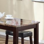 Roundhill-Furniture-3-Piece-Counter-Height-Glossy-Print-Marble-Breakfast-Table-with-Stools-0-0