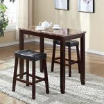 Roundhill-Furniture-3-Piece-Counter-Height-Glossy-Print-Marble-Breakfast-Table-with-Stools-0