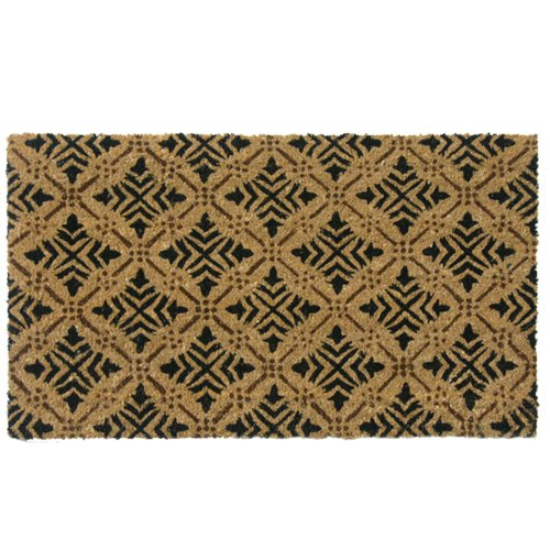 Rubber-Cal-Classic-Fleur-de-Lis-French-Matting-2-Sizes-Home-Door-Mats-0