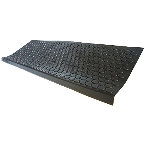Rubber-Cal-Coin-Grip-Non-Slip-Rubber-Tread-Stair-Mats-6-Pack-Black-0