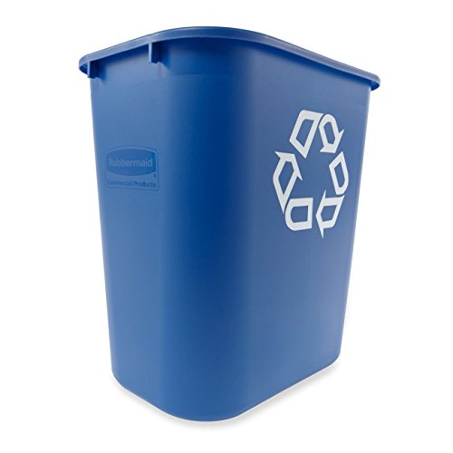 Rubbermaid-Commercial-Deskside-Recycling-Container-Medium-Blue-28-18-quart-Capacity-144-Length-x-1025-Width-x-15-Height-0