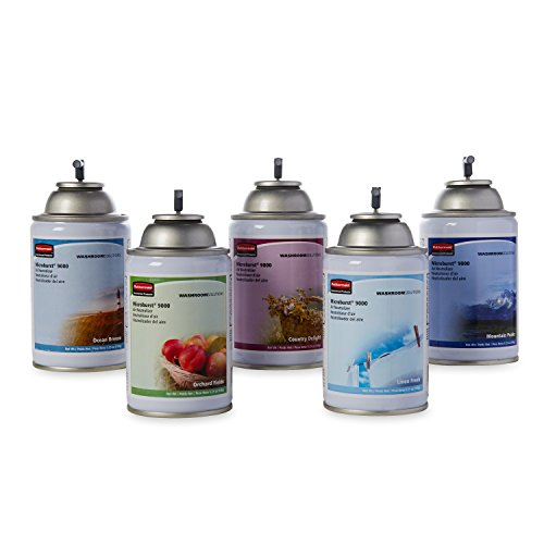 Rubbermaid-Commercial-FG4012491-Refill-for-Microburst-9000-Automatic-Odor-Control-System-5-Pack-of-Assorted-Fragrances-0-1