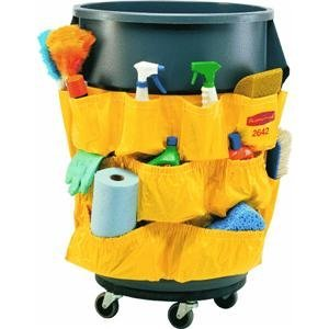 Rubbermaid-Janitorial-Caddy-Bag-Double-32-Gal-Yellow-0