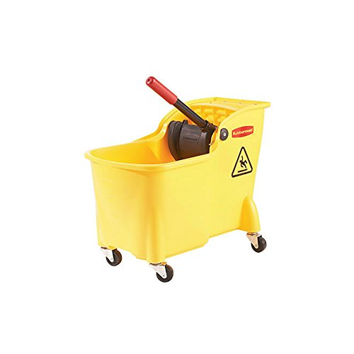 Rubbermaid-Professional-Plus-Commercial-Wringer-Mop-Bucket-28-qt-FG728100YEL-0
